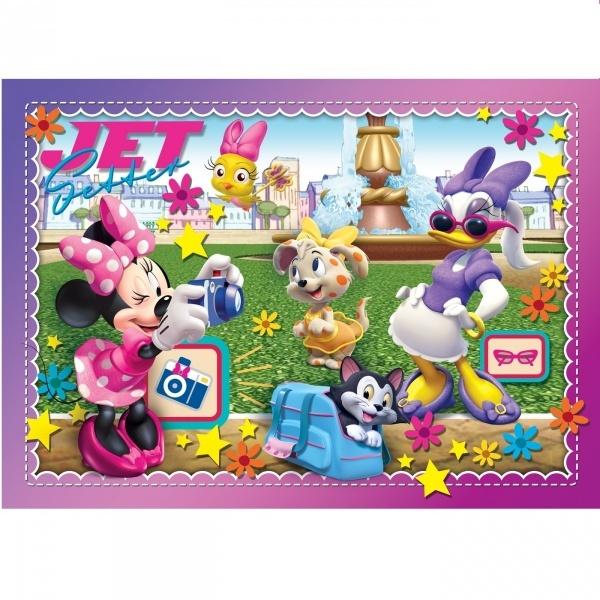 60 Parça Puzzle : Minnie App
