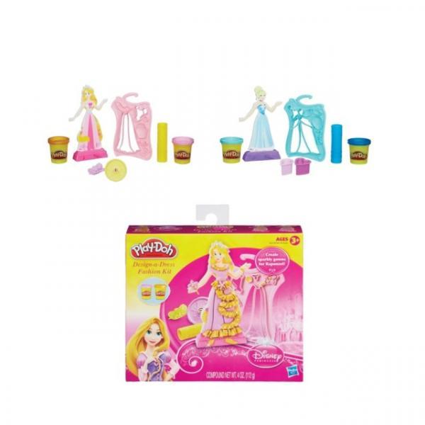 Play Doh Disney Prenses Tasarım Seti