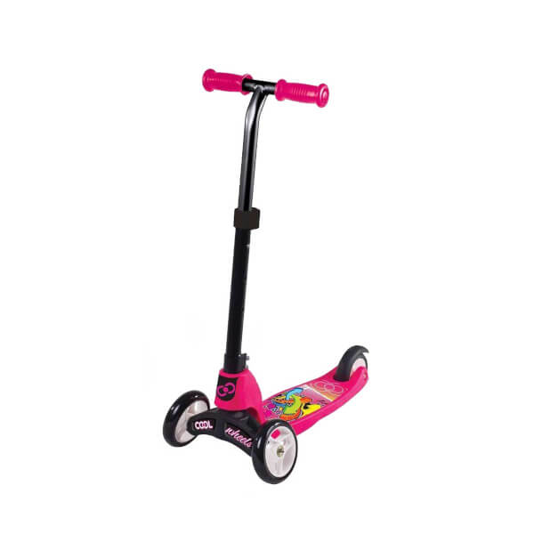 2in1 3 Tekerlekli Scooter