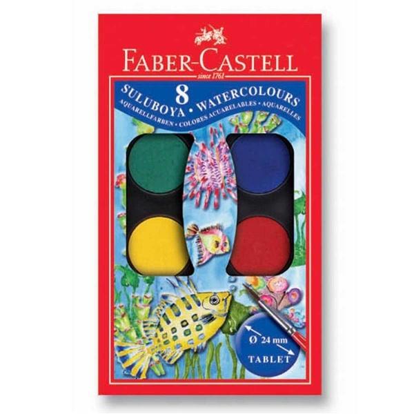 Faber Castell Redline Suluboya Küçük Boy 8 Renk