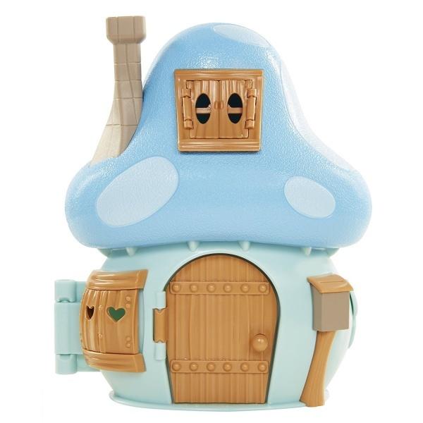 şirinler Kayıp Köy Mantar Evi Oyun Seti Brainys Mushroom House