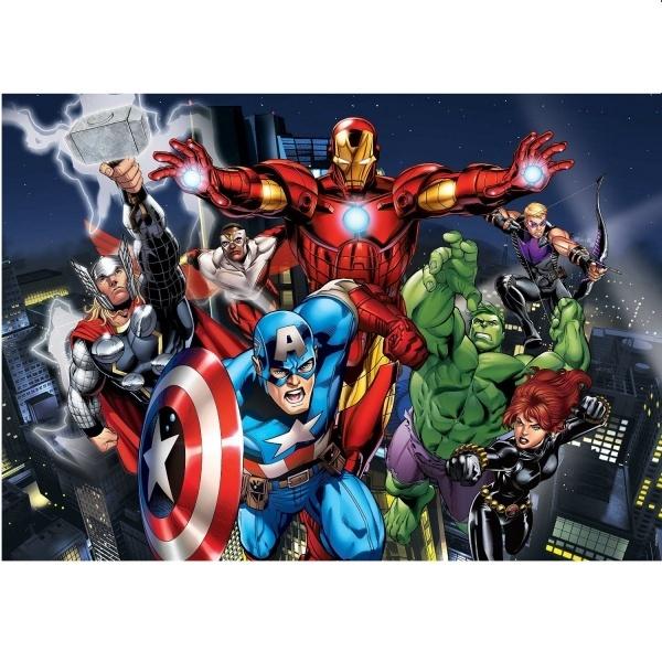 60 Parça Maxi Puzzle : Avengers