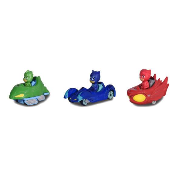 PijaMaskeliler 3'lü Karakter Araçlar