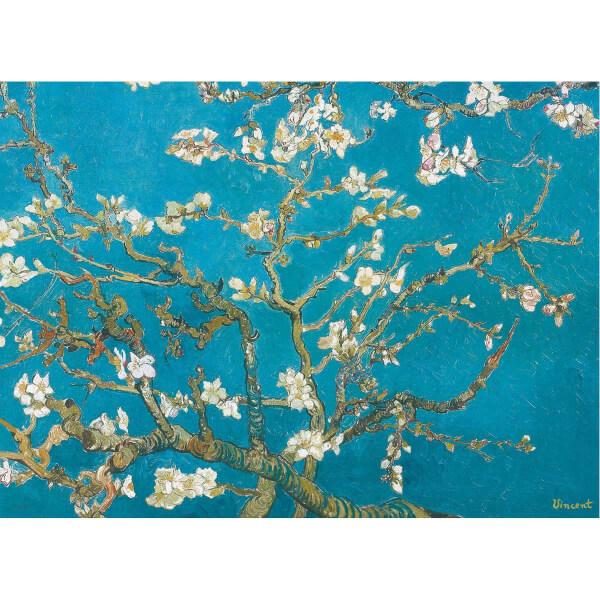 1000 Parça Puzzle : Almond Blossom - Vincent Van Gogh