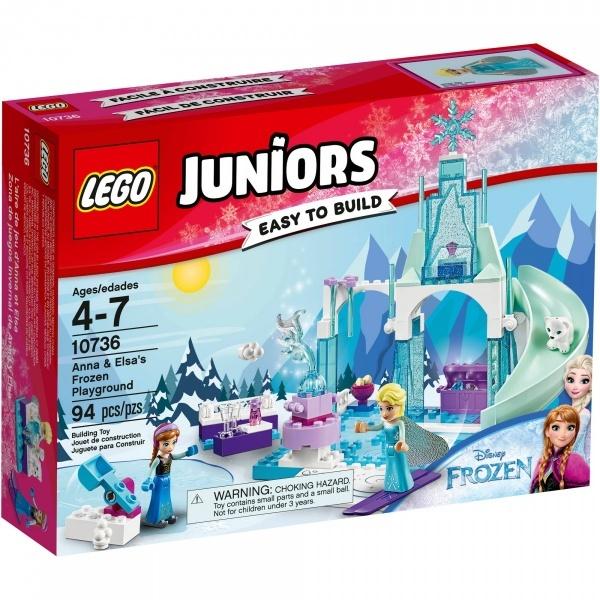 LEGO Juniors Anna ve Elsa'nın Karlar Ülkesi Oyun Parkı 10736