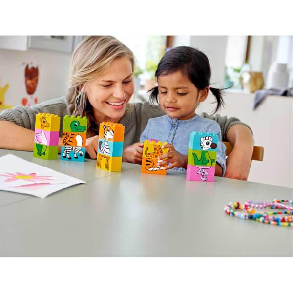 LEGO DUPLO Creative Play İlk Eğlenceli Yapbozum 10885
