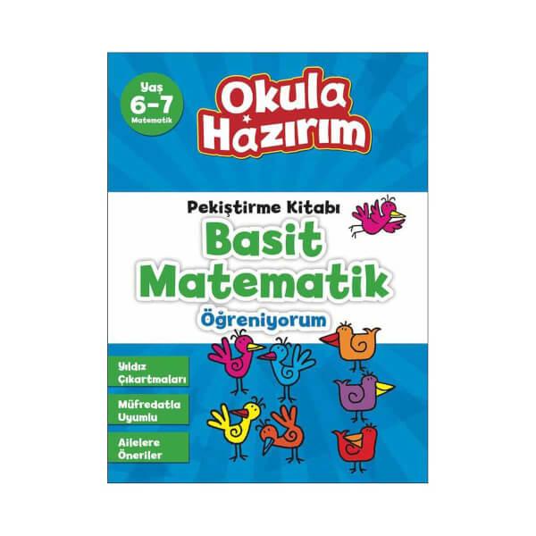 Okula Hazirim 9 Basit Matematik 6 7 Yas Toyzz Shop
