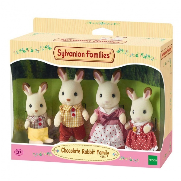 Sylvanian Families 4'lü Tavşan Ailesi