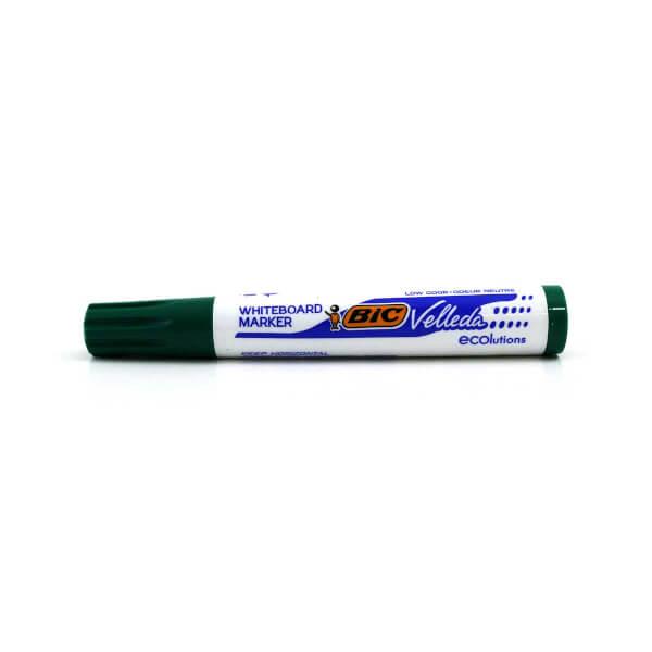 Bic Velleda Eco Yuvarlak Uçlu Yeşil Tahta Kalemi