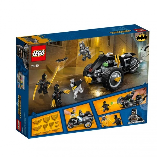 LEGO DC Comics Super Heroes  Batman: The Attack Of The Talons 76110