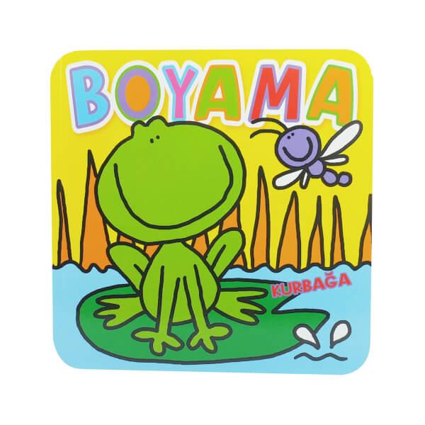 Kurbağa Boyama Kitabı Toyzz Shop
