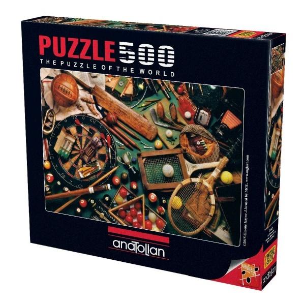 500 Parça Puzzle : Klasik Sporlar