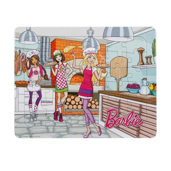 36 Parça Puzzle : Barbie Pizzacı