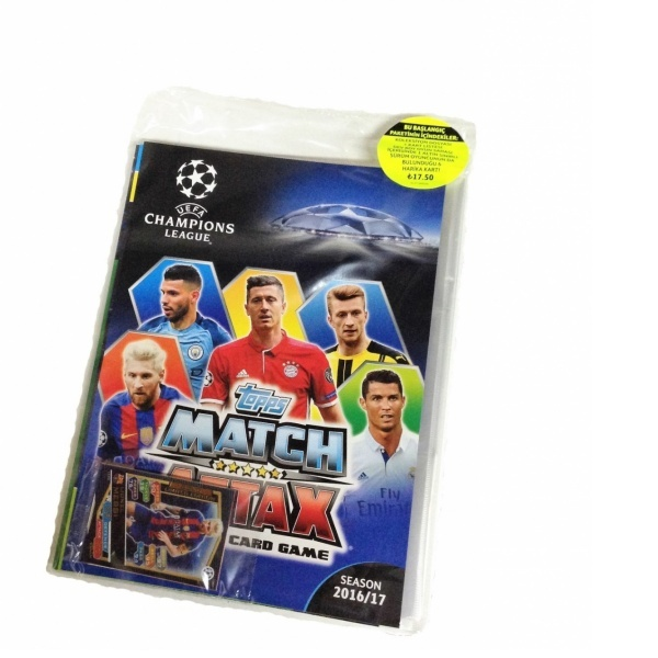 Topps UEFA Şampiyonlar Ligi Trading Card Starterpack 2016-2017