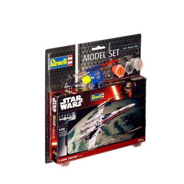Revell 1:112 Star Wars X-Wing Model Set