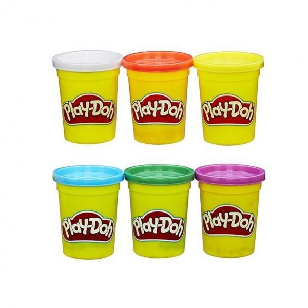 Play Doh Oyun Hamuru 6'lı Temel Renkler B6755