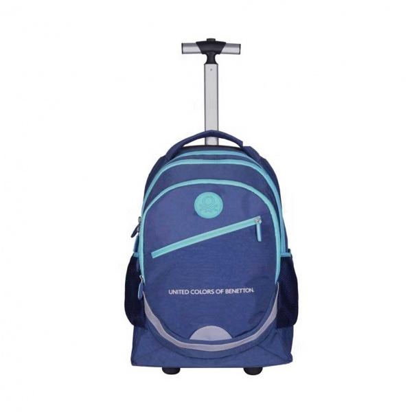 Benetton Çekçekli Okul Çantası 95021