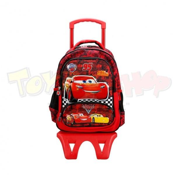 Cars Şimşek McQueen Çekçekli Okul Çantası 88952