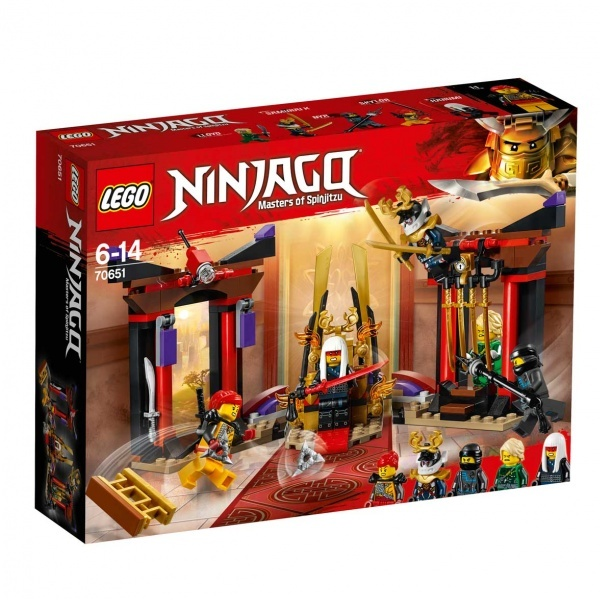 LEGO Ninjago Taht Odası Karşılaşması 70651