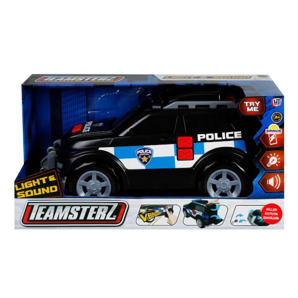 Teamsterz Sesli ve Işıklı 4x4 Polis Aracı