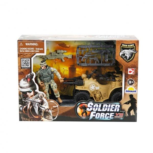 Soldier Force VIII Askeri Araçlı Oyun Seti