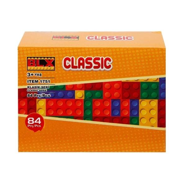 Yapım Seti : Micro Kalın Bloklar 84 Parça