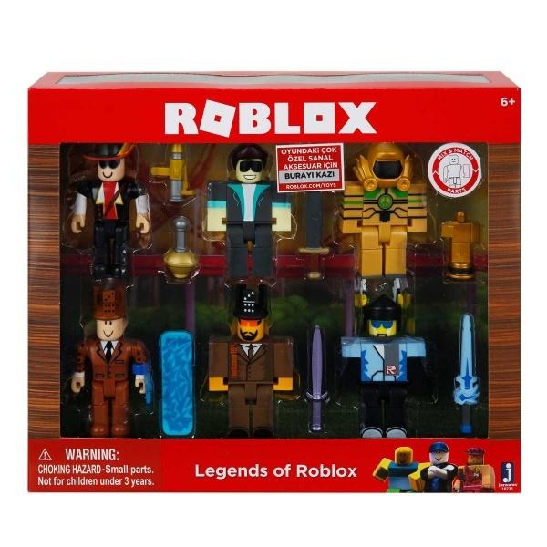Roblox 6'lı Figür Seti