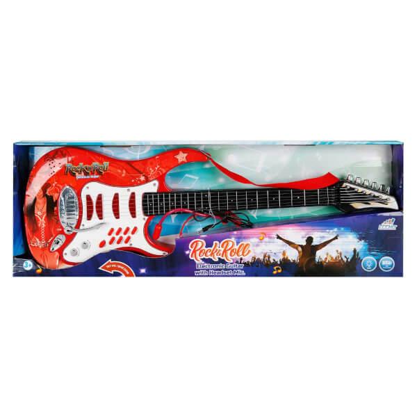 Kulaklıklı Elektronik Gitar