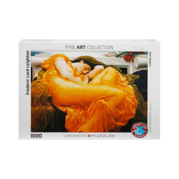 1000 Parça Puzzle : Flaming June  - Frederic Lord Leighton