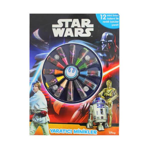Star Wars Yaratici Minikler Boyama Kitabi Toyzz Shop