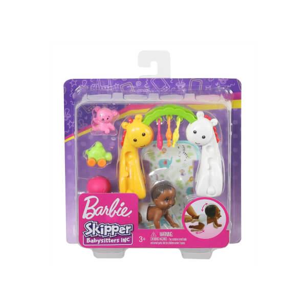 Barbie Bebek Bakıcısı Özellikli Minik Bebekler GHV83