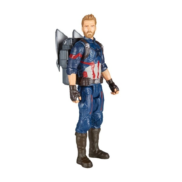 Avengers Infinity War Titan Hero Power FX Captain America Figür 30 cm.