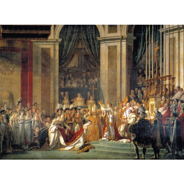 1000 Parça Puzzle : The Coronation of Emperor Napoleon I