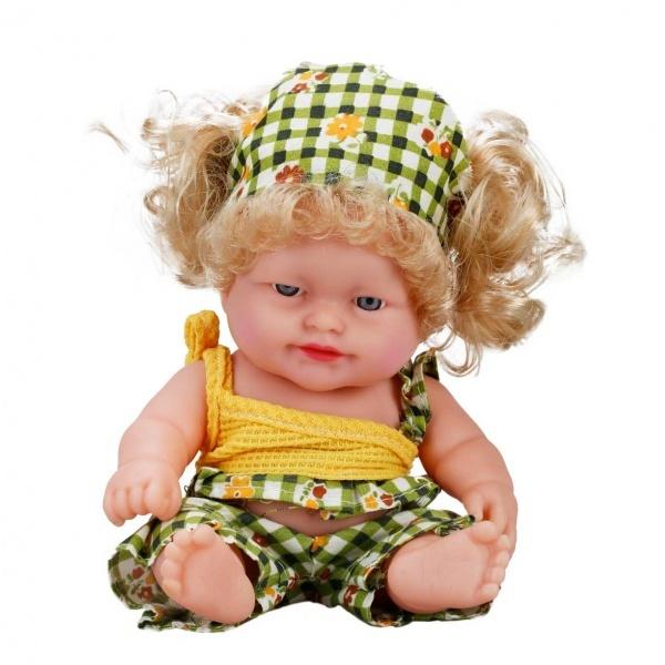Boubou Uzun Saçlı Sesli Bebek 20 cm.