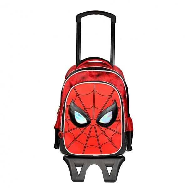 Spiderman Çekçekli Okul Çantası 95322