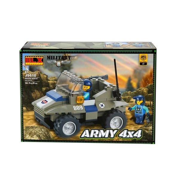 Yapım Seti : Askeri Jeep J5610