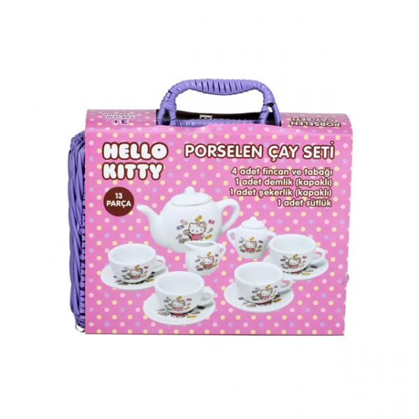 Hello Kitty Porselen Çay Seti