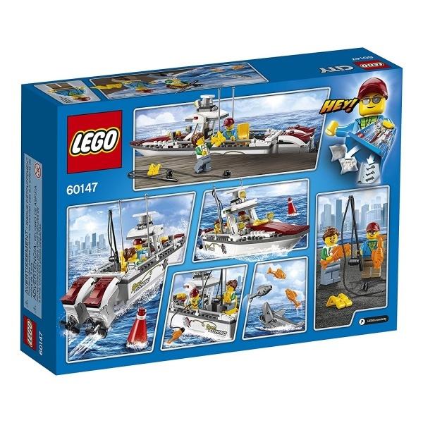 LEGO City Balıkçı Teknesi 60147