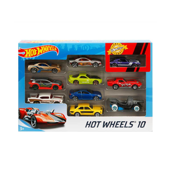Hot  Wheels 10'lu Araba