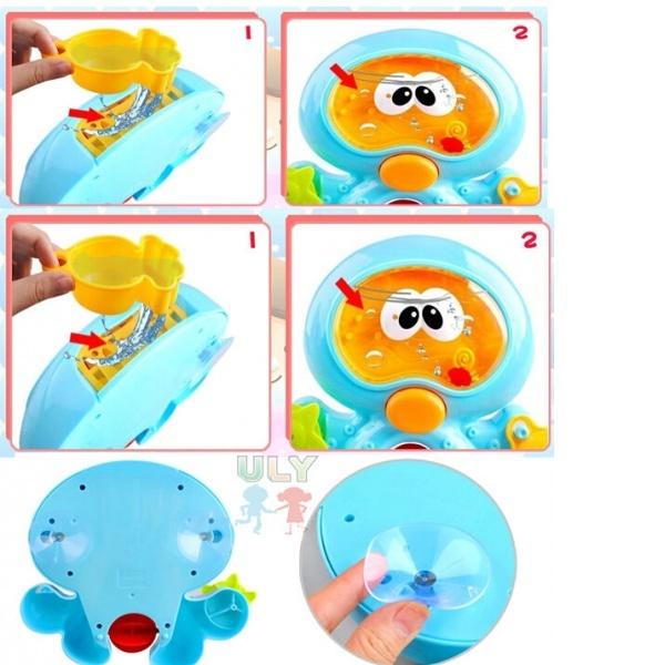 Ahtapot Banyo Oyuncağı
