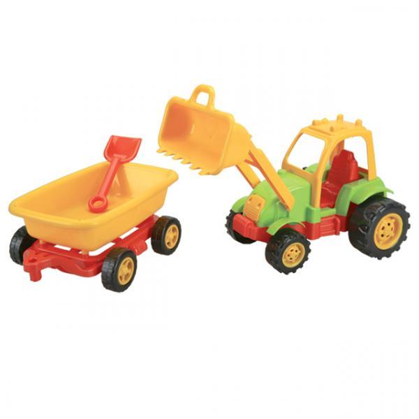 Traktör Kepçeli Römorklu