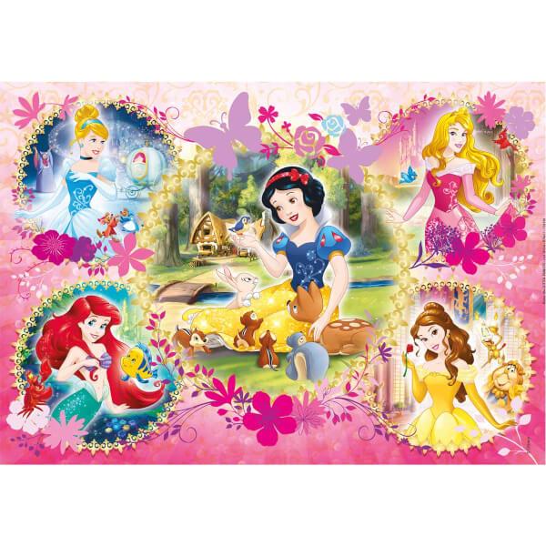 104 Parça Puzzle : Disney Princess