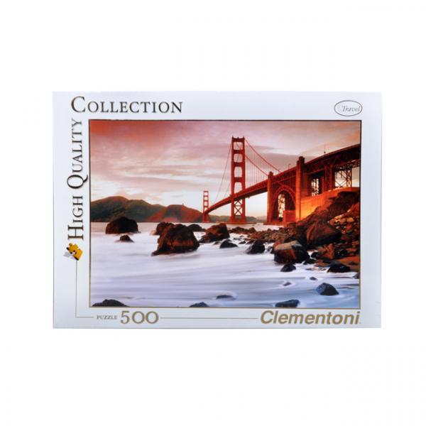 500 Parça Puzzle : San Francisco
