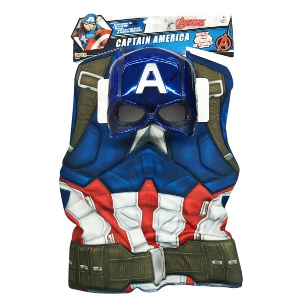 Captain America Kostüm Standart Beden