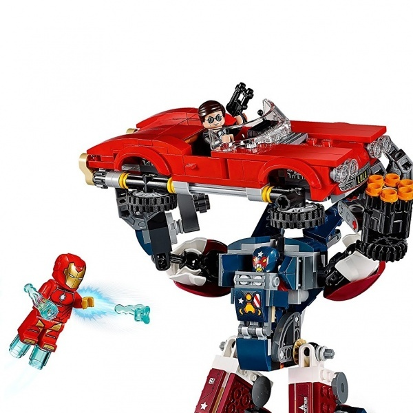 Lego Super Heroes Marvel Iron Man Detroit Steel Saldirisi 76077