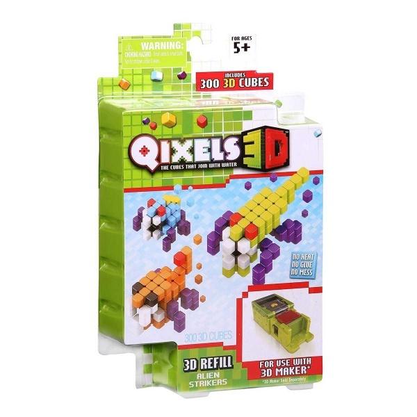 Qixels 3D S4 Yedek Paketi