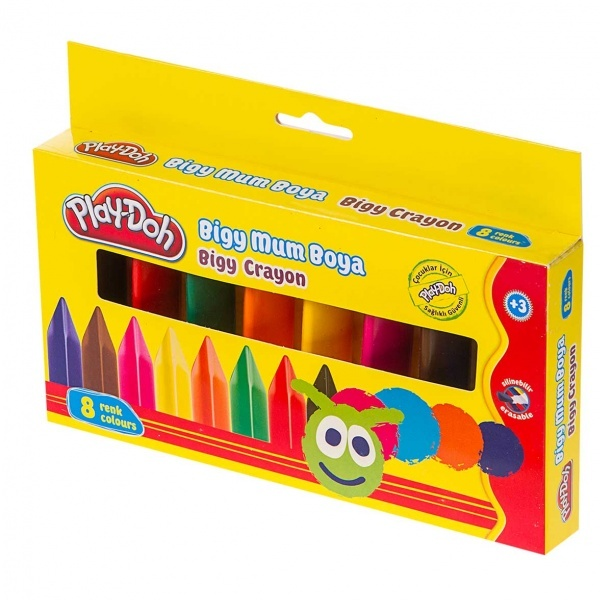 Play Doh Pastel Boya 8 Renk