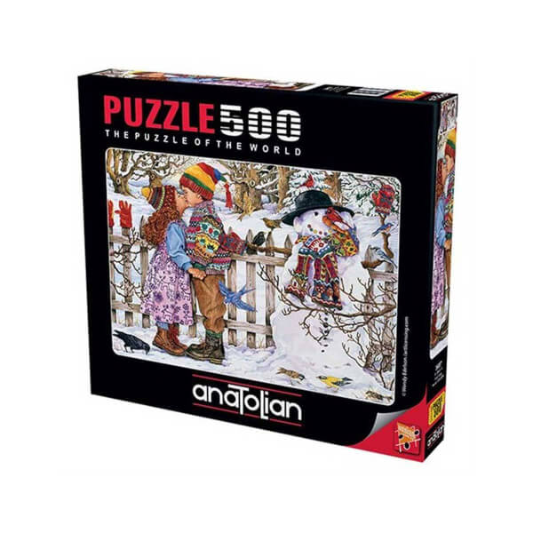 500 Parça Puzzle : İlk Öpücük