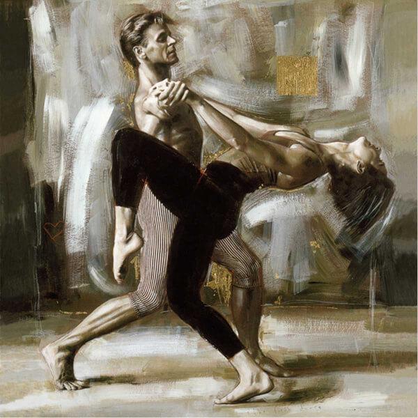 1024 Parça Puzzle : Tutkulu Dans