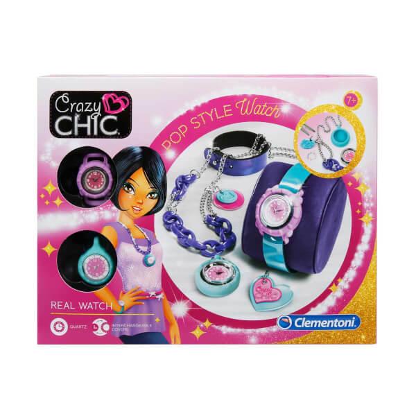 Crazy Chic Saat ve Kolye Tasarım Seti